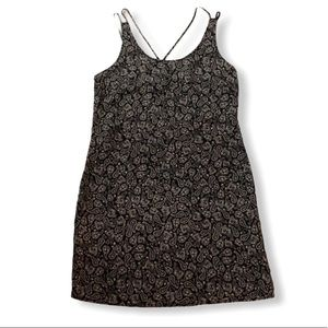 NWT Paisley dress black and white